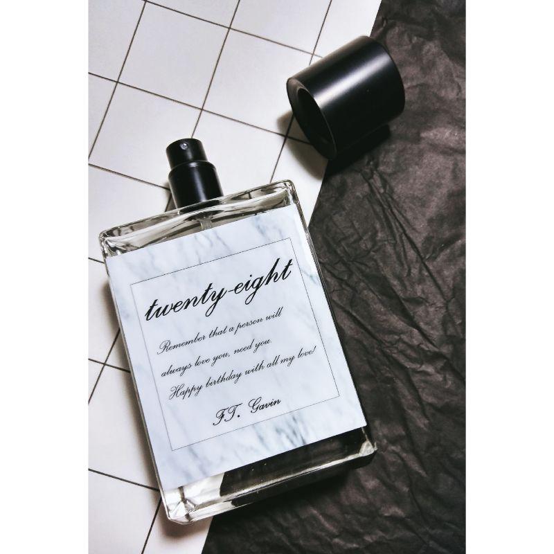 配方名稱:貳拾捌。 | LFP: 香料香水實驗室,客製專屬香水